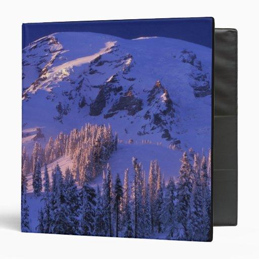 """Norteamérica, los E.E.U.U., Washington, el Monte Carpeta 1 1/2"""""""