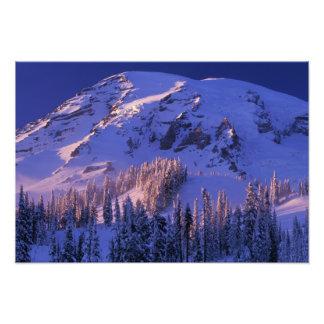Norteamérica, los E.E.U.U., Washington, el Monte R Arte Con Fotos