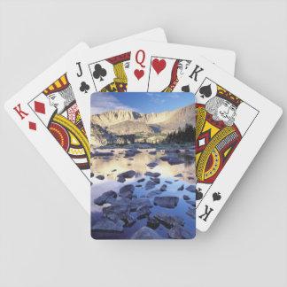 Norteamérica, los E.E.U.U., Wyoming, Yellowstone 3 Baraja De Cartas