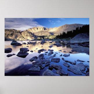 Norteamérica, los E.E.U.U., Wyoming, Yellowstone Póster