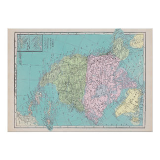 Norteamérica Póster
