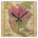 Norteamérica. Reloj