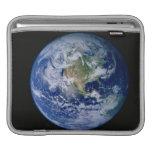 Norteamérica visto de espacio mangas de iPad