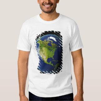 Norteamérica visto del espacio 2 poleras