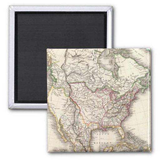 Norteamericano grabó el mapa imán