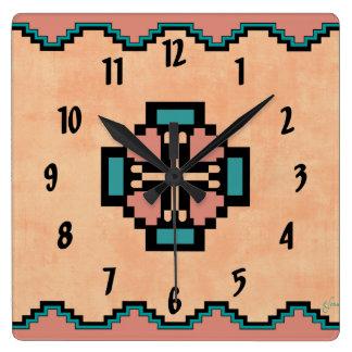 Norteño Reloj Cuadrado