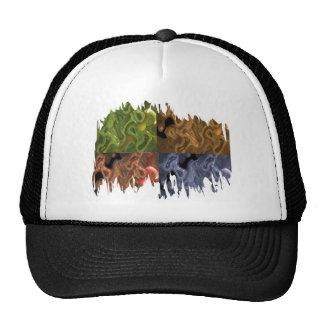 Nortern Light Fusion Collection Mesh Hats