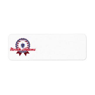 North Adams, MA Return Address Labels