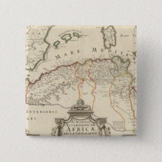 North Africa 3 Pinback Button