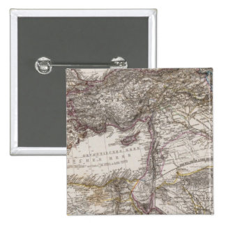 North Africa Map Pinback Button