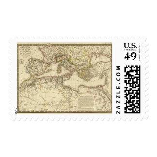 North Africa, Mediterranean Sea Postage Stamp