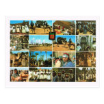 North Africa, Morocco, Marrakesh, Multiview Postcard