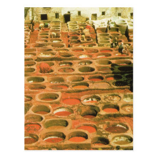 North Africa Tannery Marrakesh Morocco Post Cards