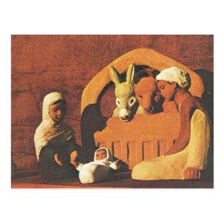 North African Nativity scene Postcard