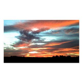 North Alabama Sunset Business Cards