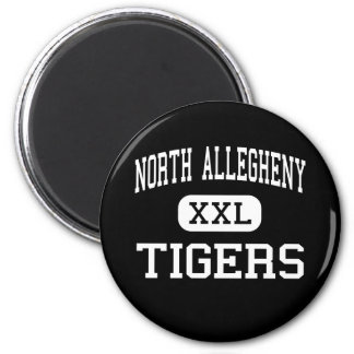 North Allegheny - Tigers - Pittsburgh 2 Inch Round Magnet