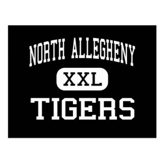 North Allegheny - Tigers - Pittsburgh Postcard