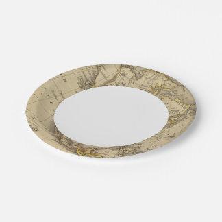 North America 10 7 Inch Paper Plate