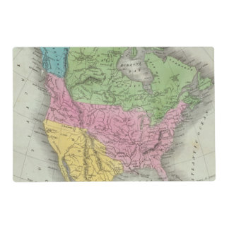 North America 11 Placemat