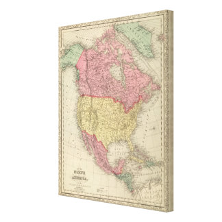 North America 13 Canvas Print