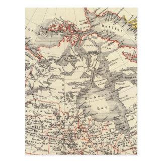 North America 13 Postcard