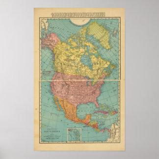 North America 13 Poster