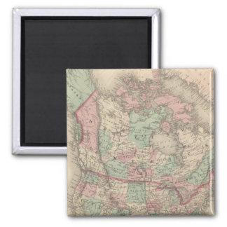 North America 14 2 Inch Square Magnet
