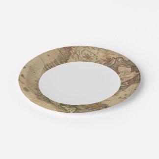 North America 14 7 Inch Paper Plate