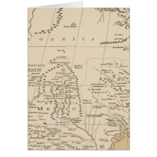 North America, 1710 Card