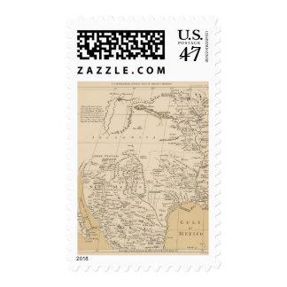 North America, 1710 Postage Stamp