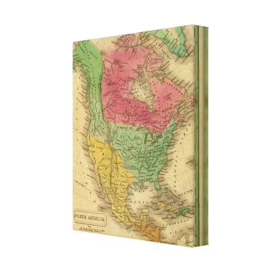 North America 17 Canvas Print