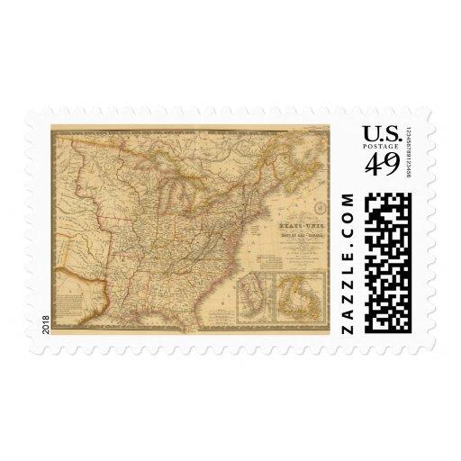 North America 17 Postage Stamp