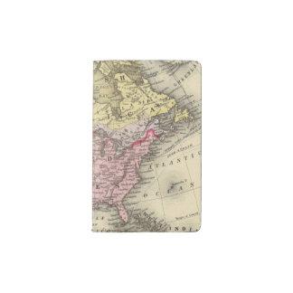 North America 18 Pocket Moleskine Notebook