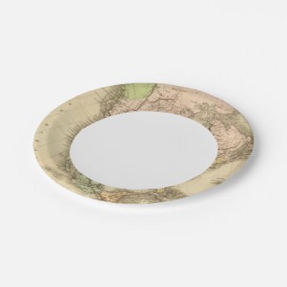 North America 20 2 Paper Plate
