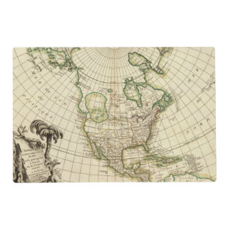 North America 21 Placemat