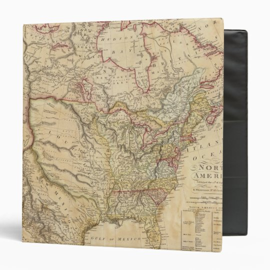 North America 26 Binder