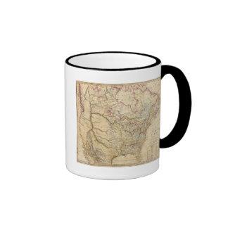 North America 26 Ringer Coffee Mug