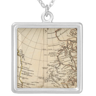 North America 27 Silver Plated Necklace