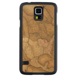 North America 29 2 Carved® Maple Galaxy S5 Slim Case