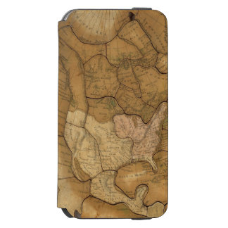 North America 29 2 iPhone 6/6s Wallet Case