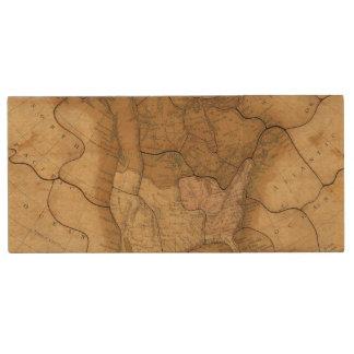 North America 29 2 Wood Flash Drive