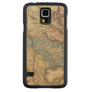North America 29 Carved® Maple Galaxy S5 Slim Case