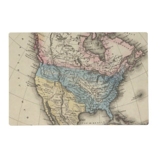 North America 29 Placemat