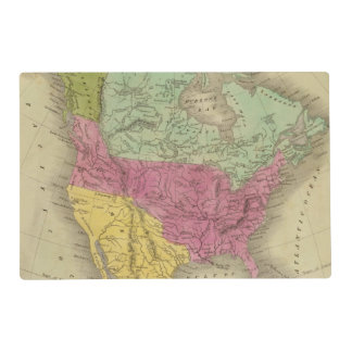 North America 30 Placemat