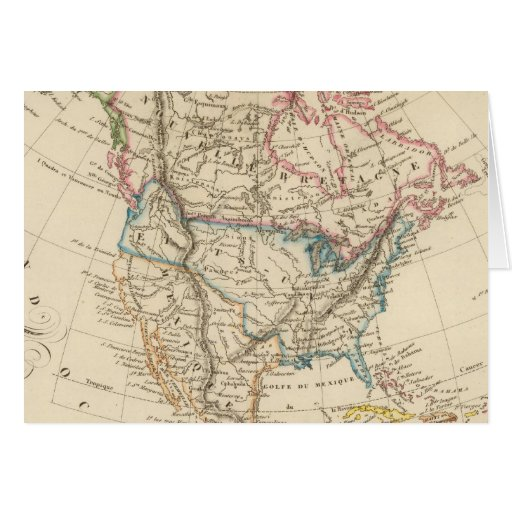 North America 31 Greeting Cards