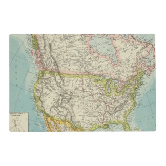 North America 34 Placemat