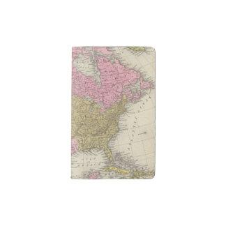 North America 35 Pocket Moleskine Notebook