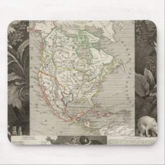 North America 39 Mouse Pad
