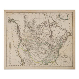 North America 39 Poster