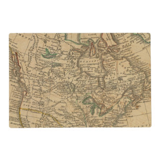 North America 3 Placemat